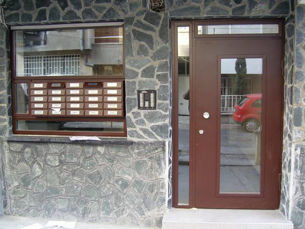 Метални пощенски кутии за входове 2