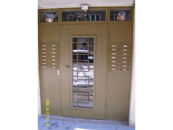 Метални пощенски кутии за входове 4